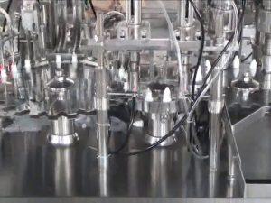 10 ml colírio pequeno preço da máquina de enchimento de garrafas de perfume