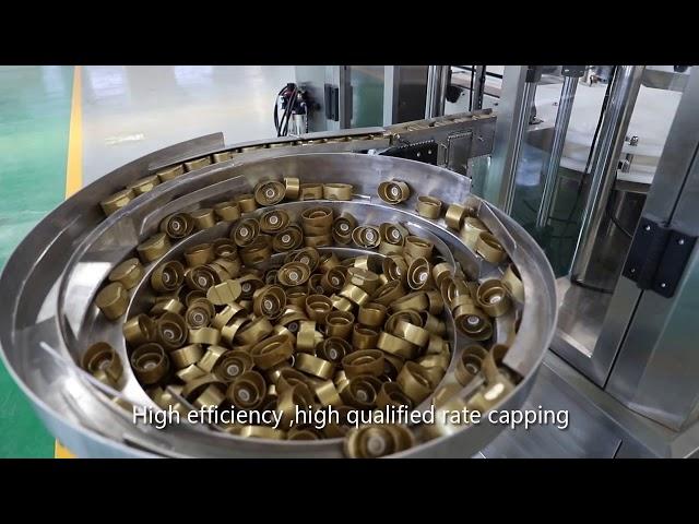 molho de pistão servo automático, mel, geléia, linha de enchimento líquido de alta viscosidade