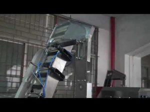 máquina tampando giratória servo automática completa da garrafa para a tampa de parafuso plástica