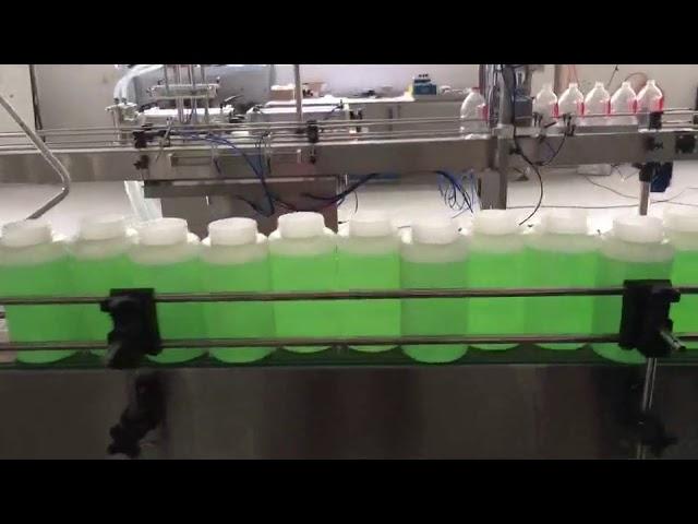 máquina de branqueamento de enchimento automático