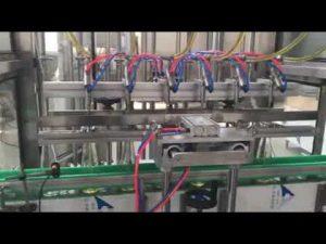 óleo de cozinha automático, mel, geléia, máquina de tamponamento de enchimento de xampu