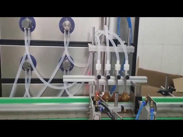 máquina de enchimento cosmética da auto garrafa de 10ml 30ml 60ml 100ml para líquidos