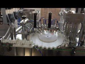 seladora rotativa de alta precisão para indústrias de alimentos, molhos e cosméticos
