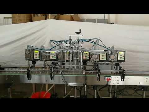 pequeno preço automático da máquina de enchimento líquido de sabão de garrafa de bomba de engrenagem