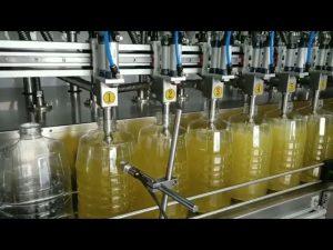 máquina tampando de enchimento automática do cilindro de óleo lubrificante do pistão