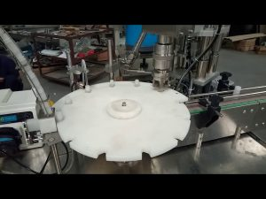 Venda quente completo automático 10 ml 20 ml 25 ml tubos de ensaio de enchimento tampando a máquina de embalagem