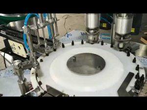 máquina tampando de enchimento de óleo essencial de pequeno volume automático completo