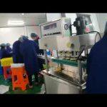 máquina rotativa de enchimento e nivelamento