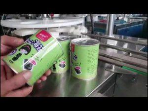 máquina de enchimento líquida cosmética automática cheia da garrafa com capsulador
