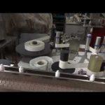 máquina de nivelamento automática de lavagem de garrafas para tampas de colírio que enche a linha de produção