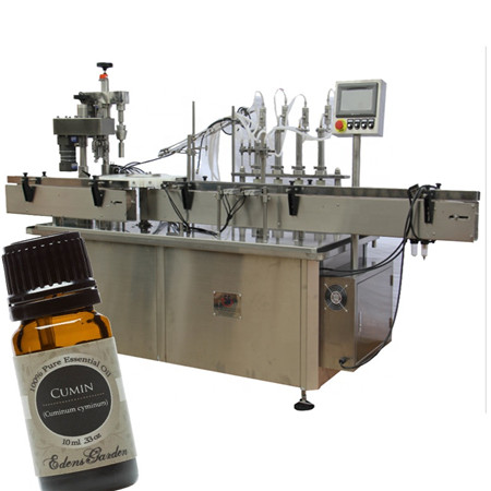 Máquina de engarrafamento automática de xarope