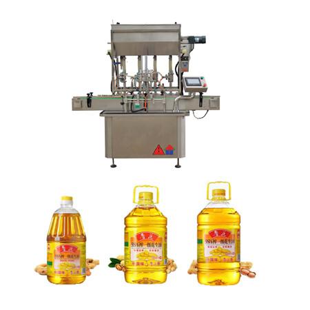 máquina de enchimento de óleo rotativa automática