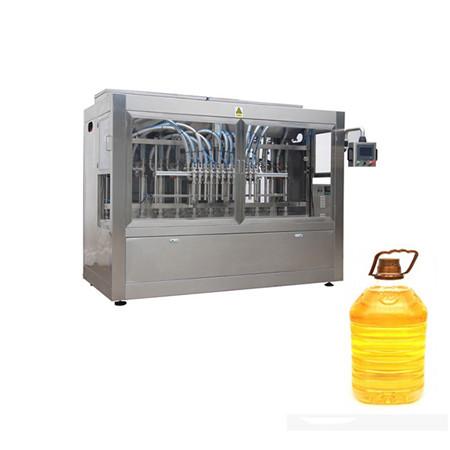enchimento automático de óleo comestível
