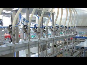 desinfetante líquido sabonete líquido álcool garrafa máquina de enchimento