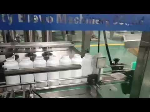 máquina de engarrafamento de detergente para a roupa, linha de produção líquida de detergente para a roupa