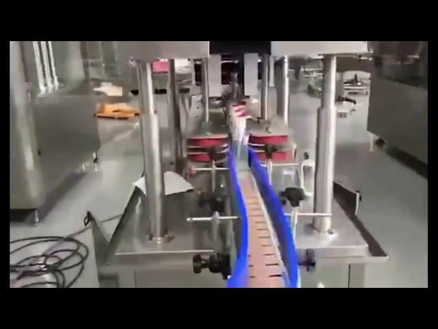 máquina de enchimento automática do enchimento do pistão do desinfetante para as mãos do gel da lavagem das mãos
