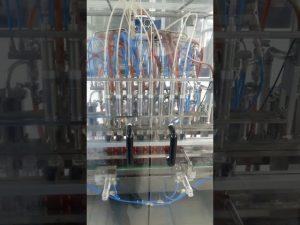 máquina de enchimento volumétrica líquida da garrafa do animal de estimação do óleo comestível