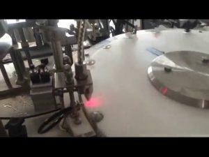 máquina de enchimento automática da garrafa do verniz para as unhas 30-50 bpm mini