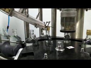 máquina tampando do parafuso da garrafa de vinho