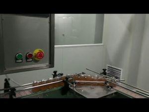 Frasco de geléia de frutas automática frasco de molho de macarrão máquina de rotular tampando de enchimento