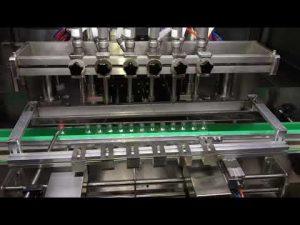 máquina de enchimento automática do gel do desinfetante do álcool para a indústria química diária