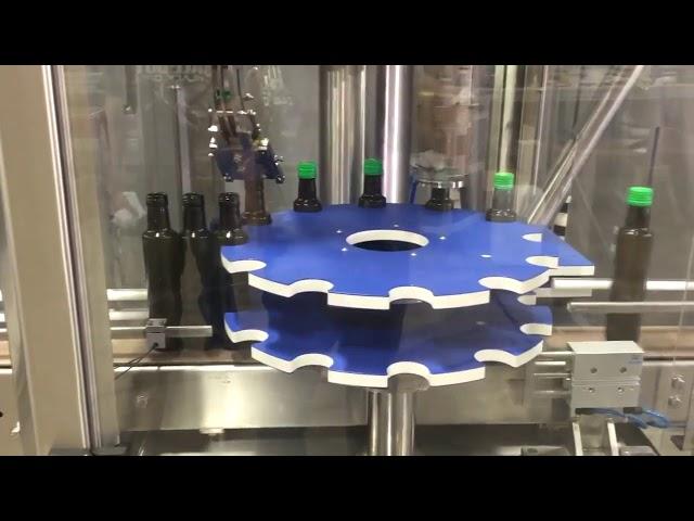 ropp tampa de rosca de alumínio máquina de selagem automática para garrafa de vidro