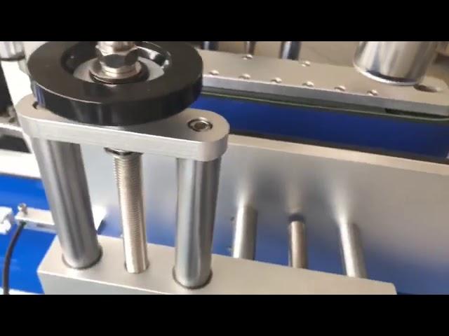 máquina de etiquetas automática dupla face da etiqueta da fabricação de cerveja da etiqueta redonda