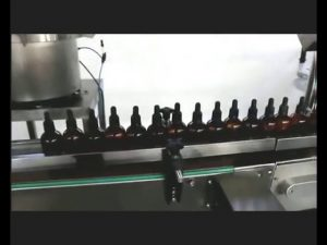 esmalte automático perfume perfume gotas para os olhos poção máquina tampando de enchimento