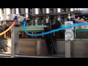 máquina de enchimento automática do molho de tomate da manteiga de amendoim do chocolate