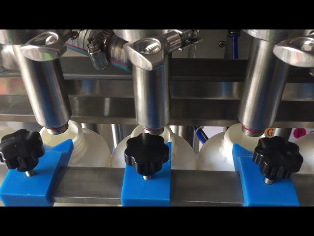 preço líquido cheio da máquina de enchimento da garrafa do champô do pistão automático
