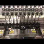 máquina de enchimento linear de creme alcoólico líquido, enchimento pequeno do óleo do frasco do mel