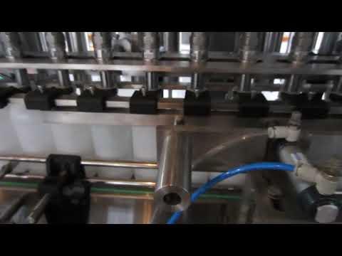 máquina automática de enchimento de detergente líquido e desinfetante