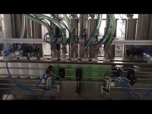máquina de enchimento de garrafa de sabão líquido de pistão