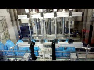 Máquina de enchimento automática do desinfetante da mão do sabão líquido da lavagem da mão do sabão líquido 100-1000ml