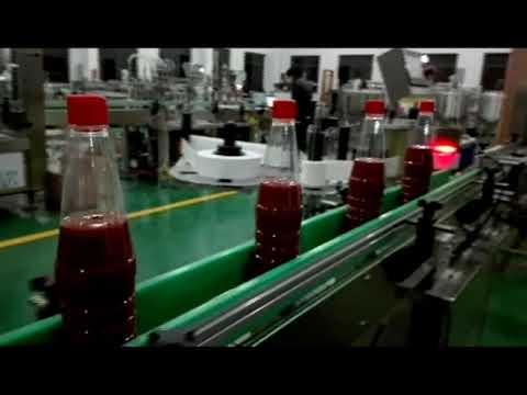 máquina de engarrafamento automática de alta velocidade para ketchup, geléia, molho