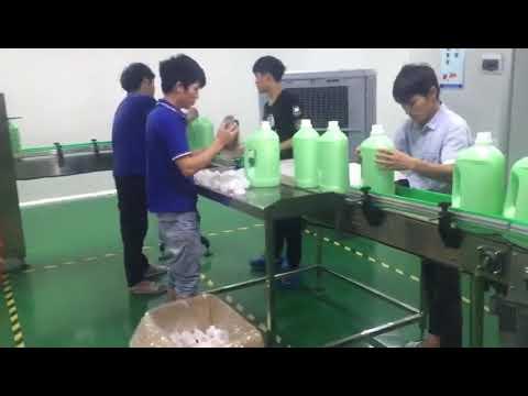 preço da máquina de enchimento de shampoo líquido de lavagem