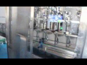 máquina de enchimento de óleo de carro, máquina de enchimento de óleo lubrificante de motor completa