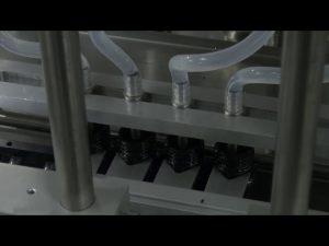 Máquina de enchimento líquida exata do desktop automático de 10ml-5l 6 cabeças