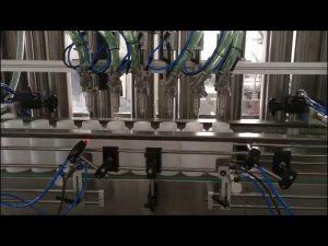 máquina de enchimento automática de desinfetante para as mãos