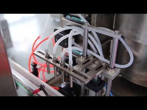 máquina de enchimento automática cheia do óleo de cânhamo do cbd da garrafa do verniz para as unhas à venda