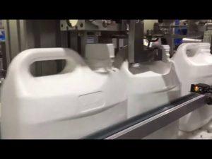 máquina de enchimento digital automática de 4 bicos líquido e creme