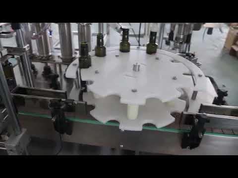 máquina de enchimento automática padrão de venda quente do azeite do ce