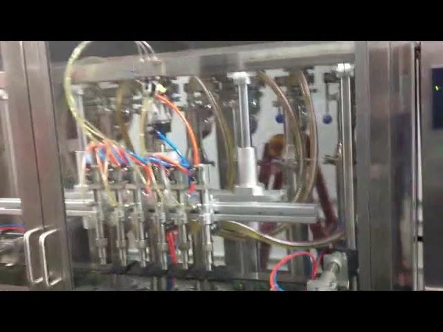 máquina de enchimento automática de azeite de garrafas de vidro