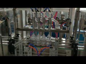 desinfetante para mãos automático álcool máquina de enchimento de detergente