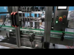 máquina de enchimento automática de linha de produção de compota de frutas e máquina de enchimento de rações