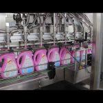 óleo comestível automático, azeite de oliva, máquina de enchimento de garrafas com shampoo para detergentes