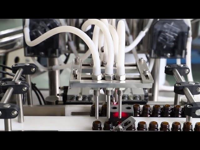 Máquina de enchimento e nivelamento de lavagem de azeite de 120 ml