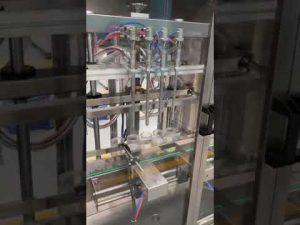 máquina de enchimento automática do frasco de perfume, máquina de enchimento líquida com preço