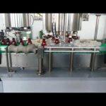 máquina de nivelamento de tampas de tampa de alumínio totalmente automática