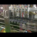 máquina de enchimento de enchimento de óleo de pistão de controle automático de plc